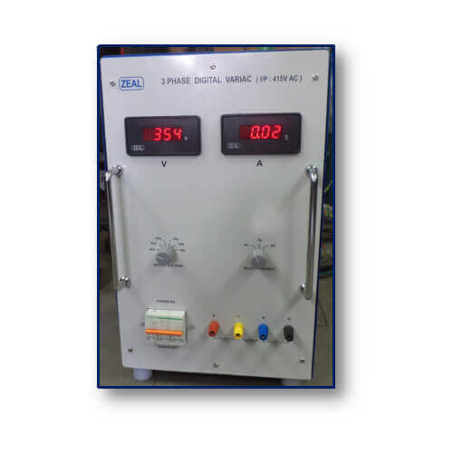 3 Phase Digital Variac