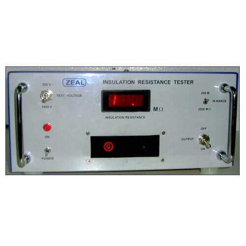 Insulation Resistance Testers (Meggers)